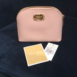 Michael Kors Leather Travel Pouch